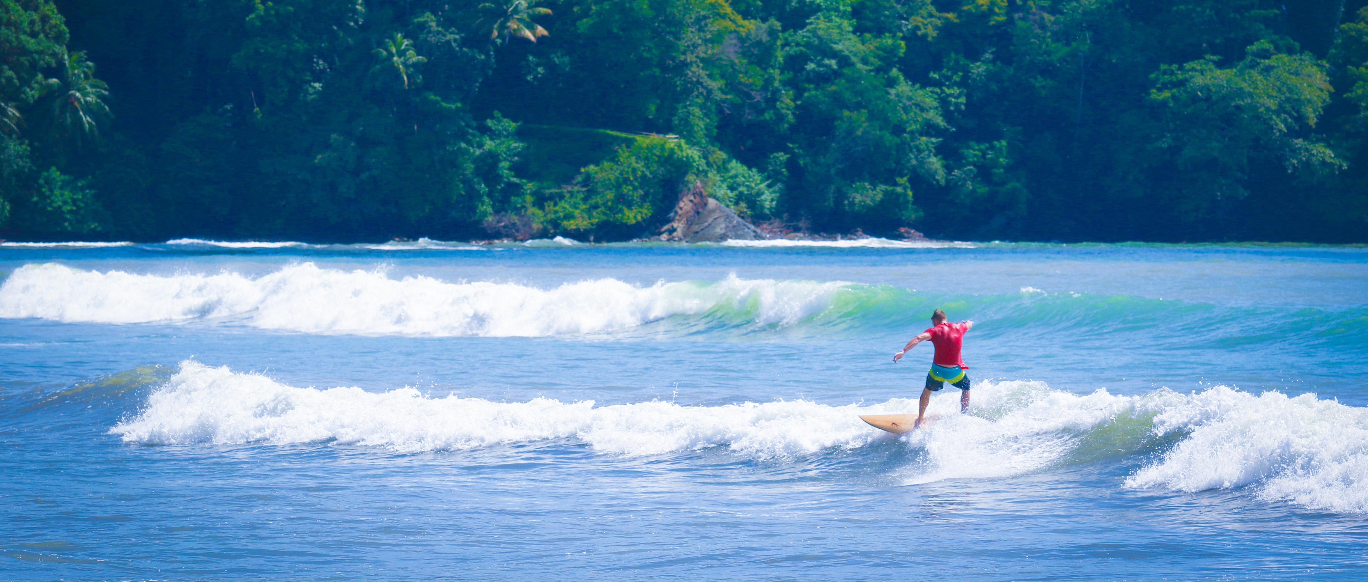Costa Rica Surfer