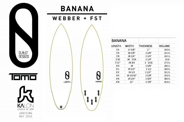 Kelly Slater Designs: The Banana