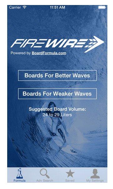 Firewire Volume Calculator App