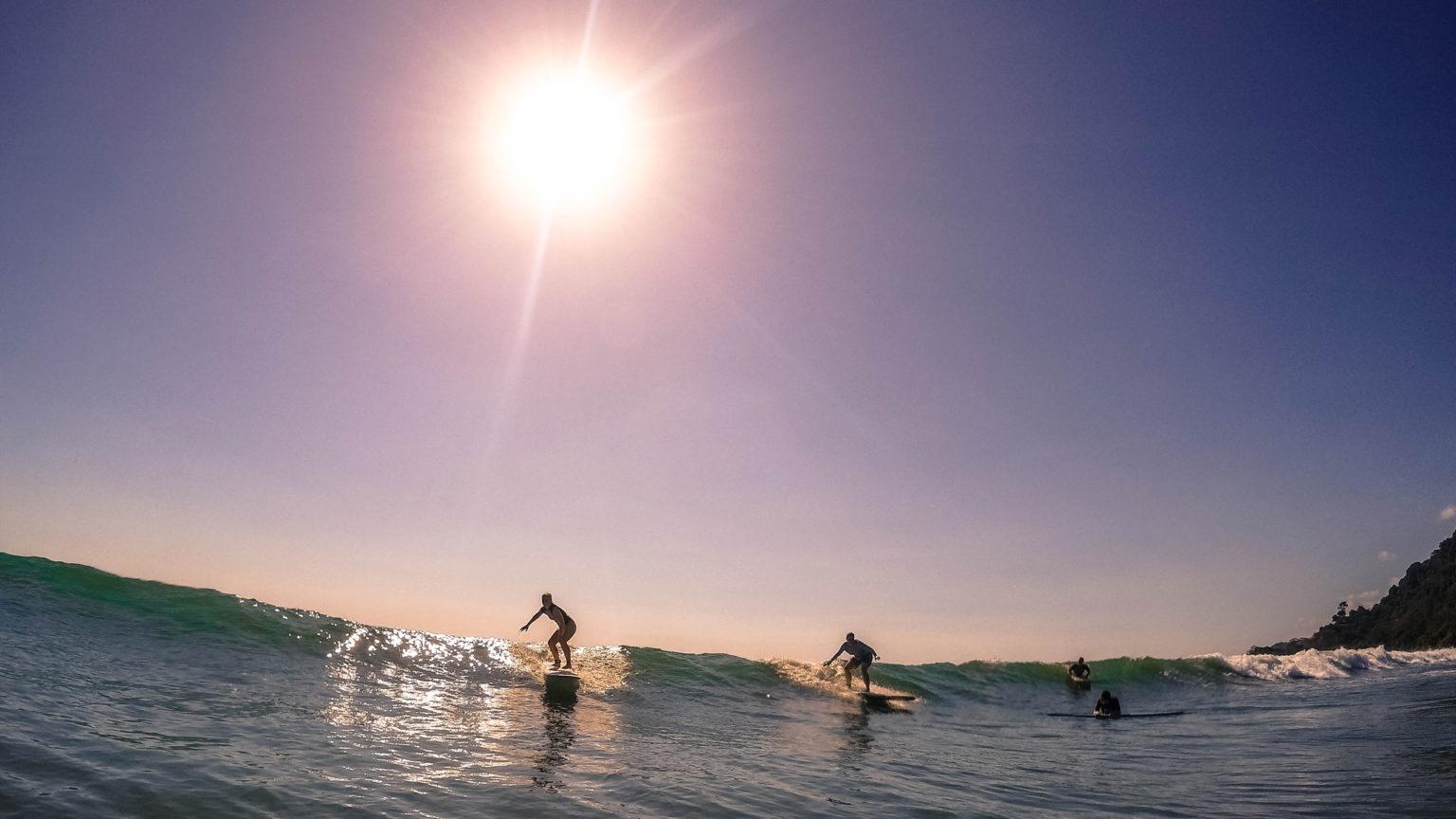 Kalon Surf Costa Rica Sunset Waves