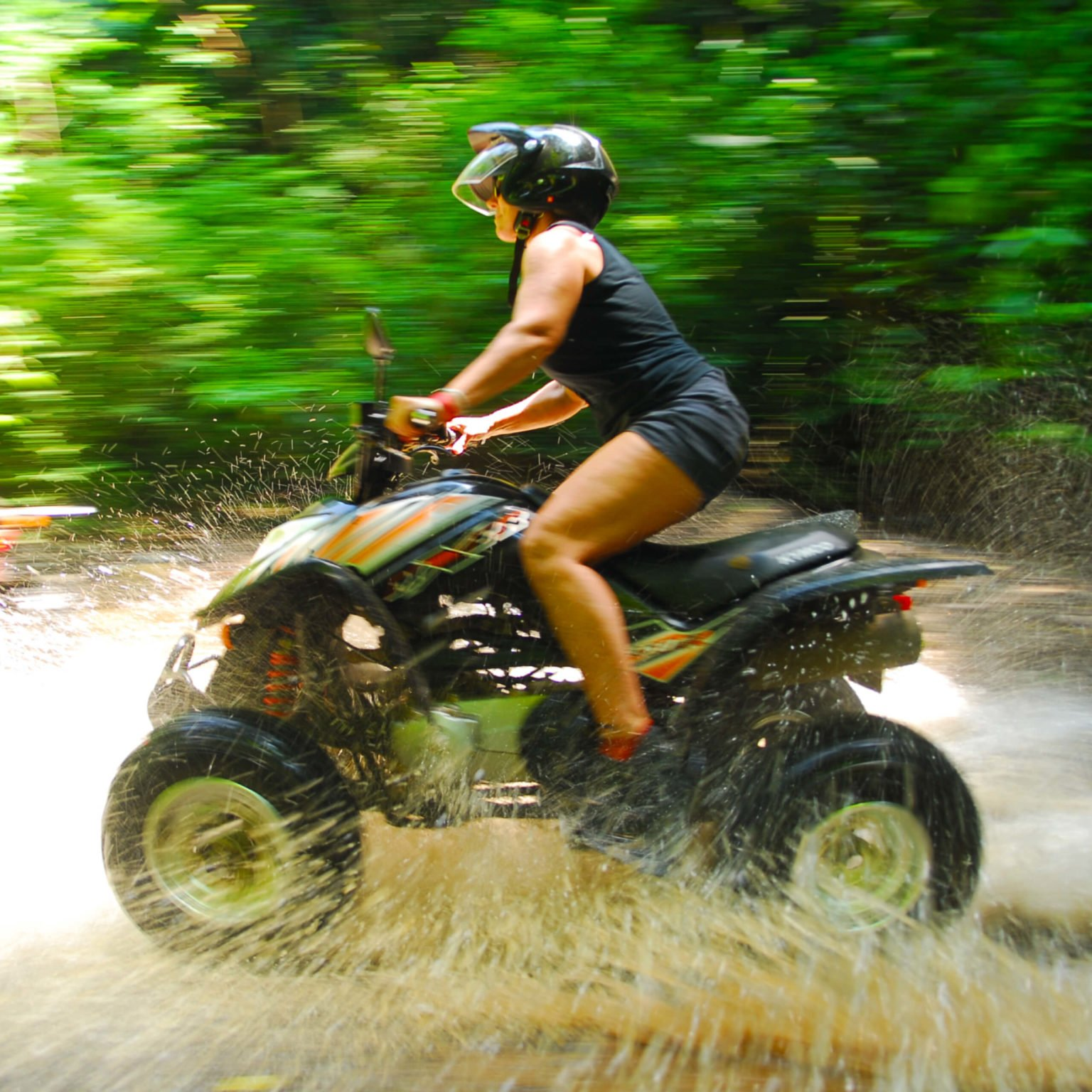 Uvita ATV & 4x4 Tours through the jungle in Costa Rica