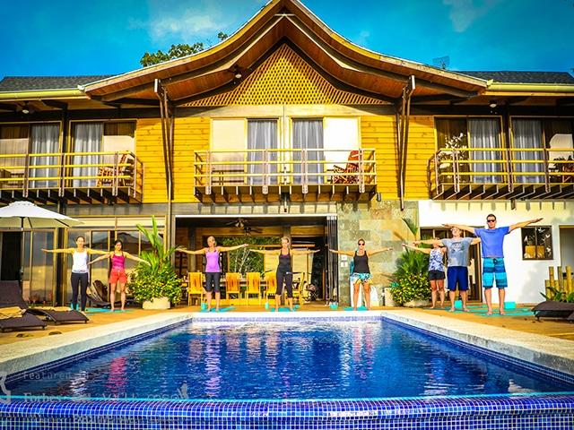 Kalon Surf Resort Pool Side Frontal