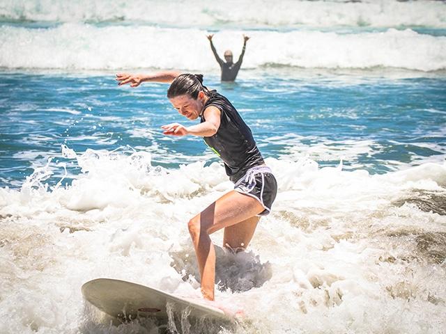 new surfer in costa rica