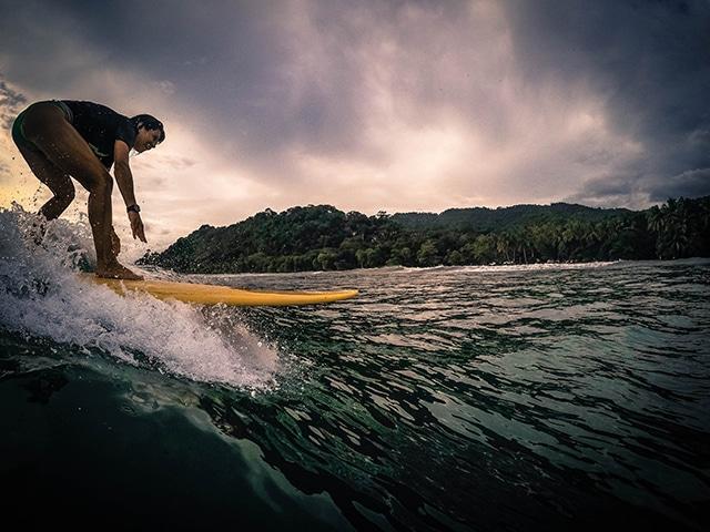 gopro surfing playa hermosa