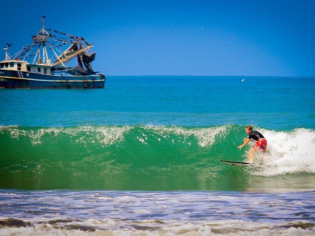 teen surfer